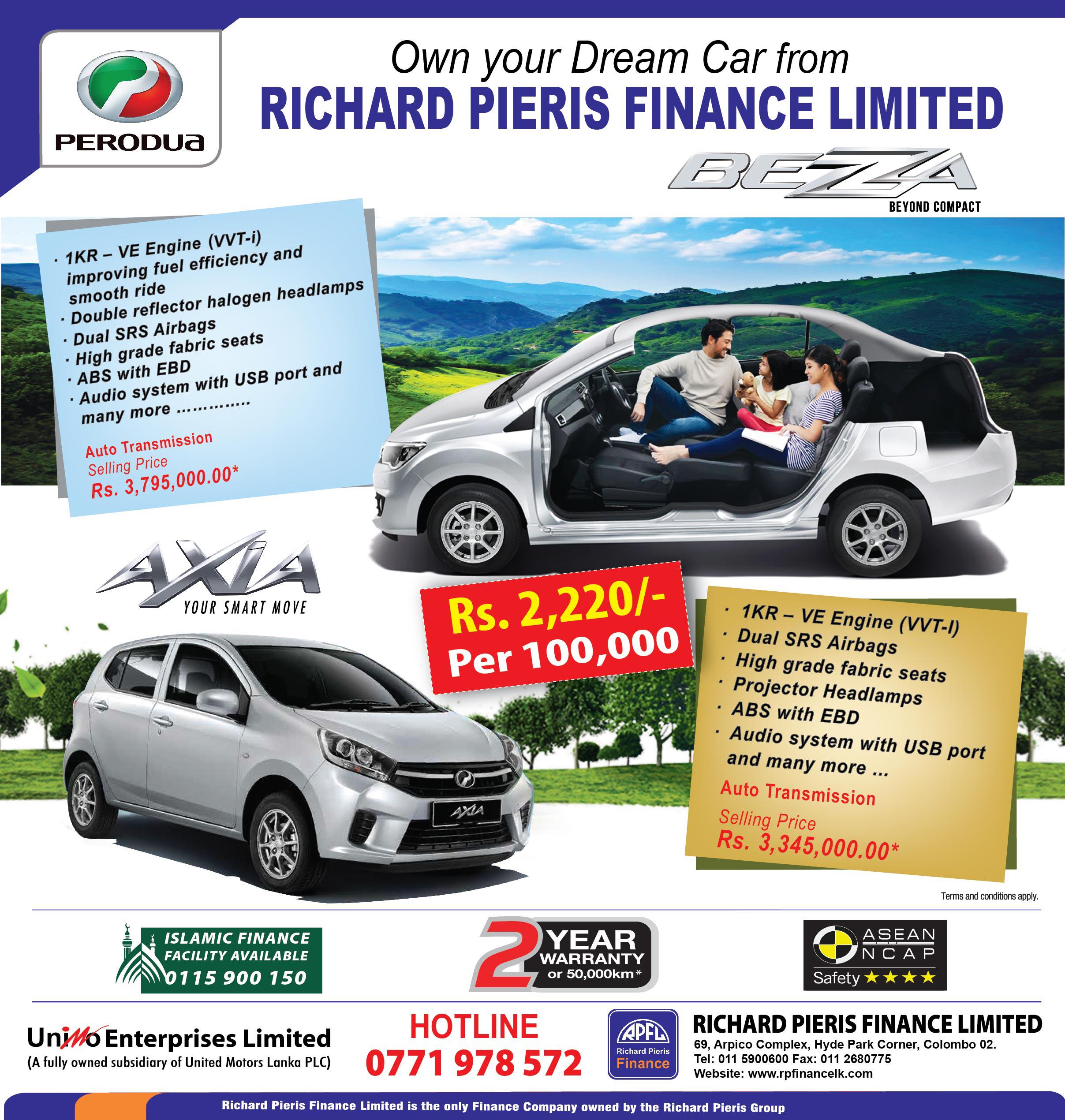 Own Your Dream Car Finance Company Sri Lanka Vehicle